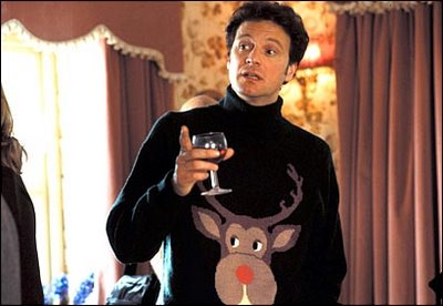 Mark Darcy Christmas jumper